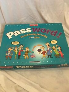 Vintage 1995 Password Board Game - By Waddingtons - Complete Mint Condition