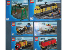 NEW INSTRUCTIONS ONLY LEGO CARGO TRAIN 7939 all books manuals from set