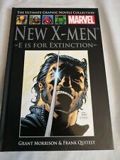 The Ultimate Graphic Novel Collection New X-Men E is Foe Extinction HC Hardcover