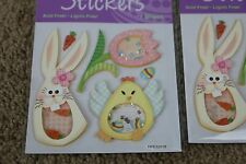 LOT OF 5 Easter Scrapbooking Holiday 3D Stickers Creative Expressions [QTY 5]