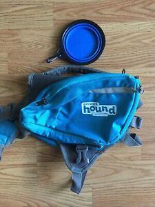 Outward Hound Daypack Medium dog backpack convertible NWOT blue breathable.