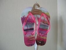 Authentic Havaianas Havaianas Beach Print Women's Fit Flop Size 35-36 USA 6W EU