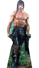 "Rambo Sly Stallone - 70"" Tall Life Size Cardboard Cutout Standee"