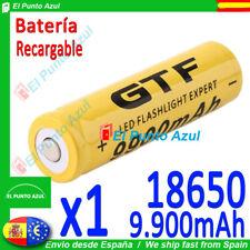 Pila 18650 Recargable GTF ★9900.mAh - Li-ion★3,7 voltios★Rechargeable