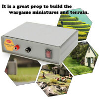 Flocking Box Static Grass Flocking Applicator Machine for Model Wargames Scenery