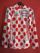 Radtrikot gepunktet Castelli Tour Frankreich Champion lange Ärmel vintage - 3