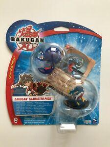 BAKUGAN - New Vestroia - Character Pack 2 - 1 Bakugan + Figur - NEU - OVP