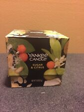 Yankee Candle 7.5 oz Candle Sugar & Citrus In Gift Box - NEW IN BOX