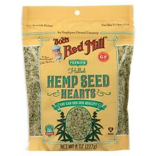 Bob's Red Mill Hulled Hemp Seed Hearts, Case of Six - 8 Oz Zip Pouches