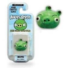 Angry Birds Mini Glass Sculpture Collectible - Medpig Bird, NIP, Mint!
