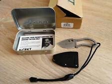 crkt knife RITTER RSK MK5 mini Messer in Blechdose mit OVP unbenutzt