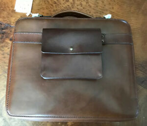 Satchel & Page Leather Port 15 NWT 1.0 With Insert & Modular Pocket 🎁🎁🎁