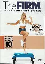 The Firm Body System Complete Body Sculpting DVD Video Workout Exercise Fat Burn