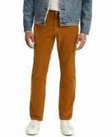 Levi's Mens Pants Brown Size 33x30 Tapered Leg 502 Corduroy Stretch $69 206