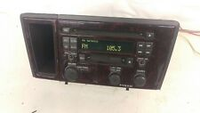 Volvo OEM HU-613 CD cassette player AM/FM radio S60 XC70 HU613 02 03 Woodgrain