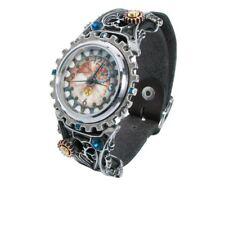 Alchemy Gothic Steampunk Telford chronocogulator Timepiece étain Bracelet Montre
