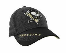 Pittsburgh Penguins NHL Reebok Playoff Hat Cap Adult Men's Flex Fit L/XL