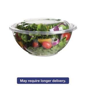Eco Products EPSB24 Renewable & Compostable Salad Bowls W/ Lids - 24oz., 50/pk,