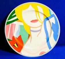 rosenthal tom wesselmann künstler platzteller Blonde Vivienne pop art  10f2  '85