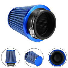 3'' Universal Car Air Filter Induction Kits Sports Car Cone Air Filter Chrome