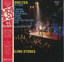 The Rolling Stones - Gimme Shelter SLC-380 JAPAN LP with OBI and LYRIC SHEET