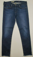 AG Adriano Goldschmied The Stilt Dark Wash Cigarette Leg Skinny Jeans Size 29R