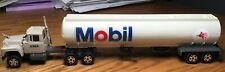 Ertl Mack Mobil Gas Tractor/Tanker Trailer 1/64