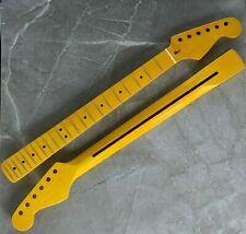 Hals Maple für Elektrische Gitarren Griffbrett in Gelb Farbe mit 22 Bünde