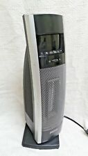 BIONARE black portable ceramic tower space heater BCH9212R