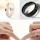 Hot Sale Stainless Steel Ring Band Titanium Silver Black Men SZ 7 to 12 Wedding