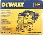 New DeWalt DCS331B 20V Cordless Battery Variable Speed Jig Saw Max 20 Volt Blade photo