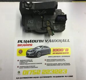 Vauxhall Astra MK 4   NSF Door catch and solenoid 90561153 AU