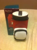 PARK AVENUE  GOLF BAG DRINK HOLDER  INSULATED  CLIPS TO BAG--FREE SHIP--NEW