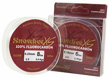 Snowbee XS Fluorocarbon Clear 100m spools