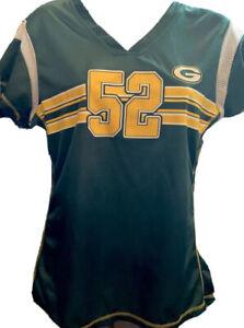 NFL Apparel Green Bay Packers #52 Clay Matthews Football Jersey Women's M