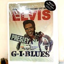 Elvis Presley Metal wall sign . G.I. Blues