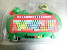 RARE 1995 DINOKIDZ Strong Man Keyboard For MACINTOSH SMK-KIDS Board ALPS KEYS