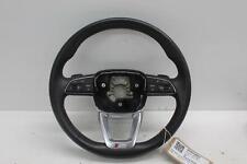 2016 AUDI Q7 S-Line Quattro Multifunctional Black Leather Steering Wheel