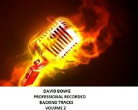 DAVID BOWIE PROFESSIONAL RECORDED BACKING TRACKS VOLUME 2