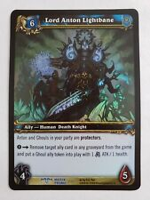 Lord Anton Lightbane - WoW World of Warcraft Tcg Promo 00006000  Card - Nm Not Played