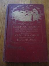 RARE THE SLEEPING BEAUTY A. QUILLER-COUCH E.DULAC PLATES DORAN EDN 1920S
