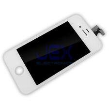 White Full Front Frame Digitizer Touch Screen & LCD Assembly for IPhone 4/4G ATT