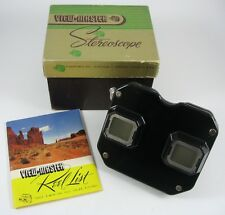 Vintage 1949 Sawyers View-Master Stereoscope in Original Box with Reel List