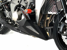 KAWASAKI Z750/Z750S/Z750R 11-12 / Z1000 07-09 Matt Black-Silver Mesh Belly Pan -