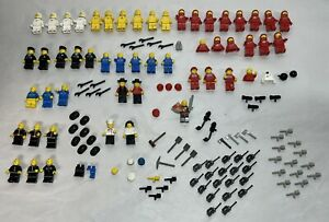 Lego Minifigures Lot of 50 Figures w/ Accessories & More 🔥 🚀
