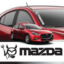 DEVIL DECAL STICKER FOR MAZDA
