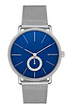 Skagen Watch * SKW6230 Hagen Blue Dial Silver Steel Mesh for Men COD PayPal
