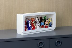 SF-PFCS-WHT: Designer Display Case for Vinyl Figures, Collectibles, Toys - White