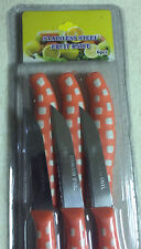 Set Of 6 Multi Color Fruit Vegetable Carving Tool Straight Blade