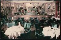 NYC NY Shelton Hotel Corner Lounge Bar View Vintage Restaurant Old City Postcard